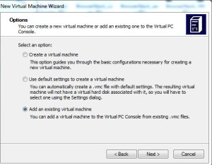 Modern IE Add VM