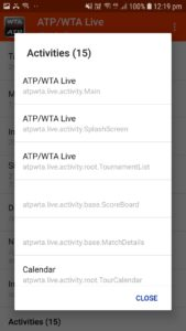 Details of ATP WTA app