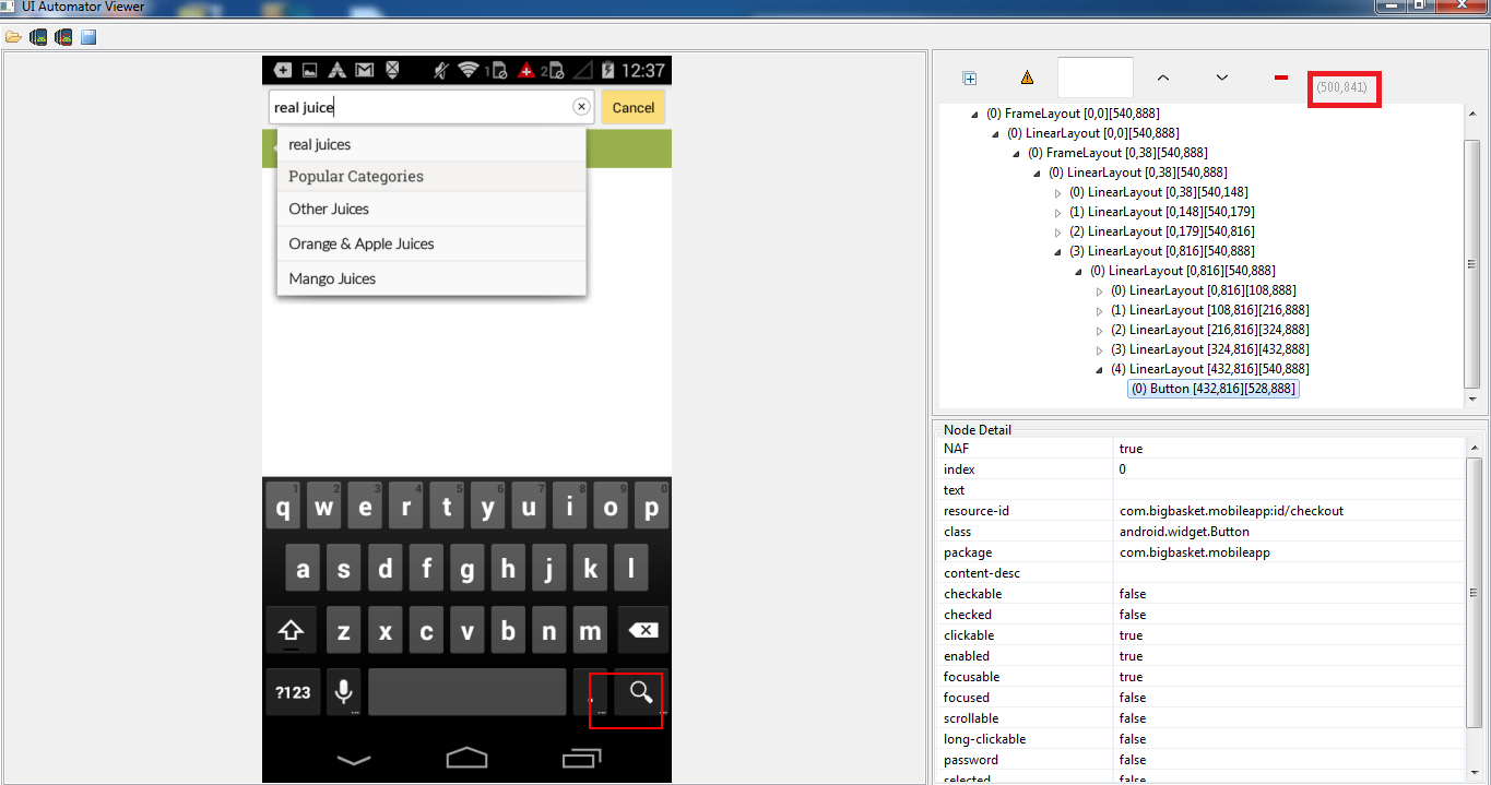 Android and Appium: Press Enter on the soft keyboard - Qxf2 blog