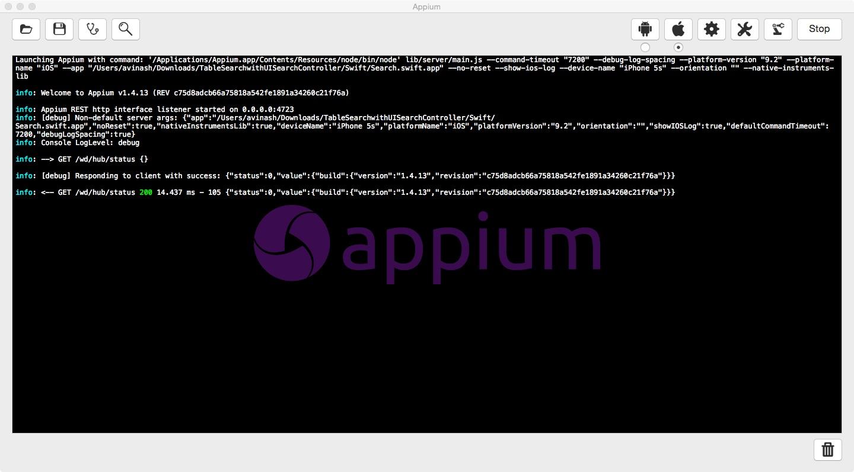 Get Set Test an iOS app using Appium and Python - Qxf2 blog