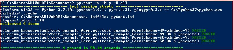 pytest: Cross browser, cross platform Selenium tests - Qxf2 blog