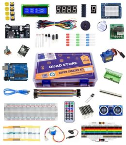 Our Arduino starter kit