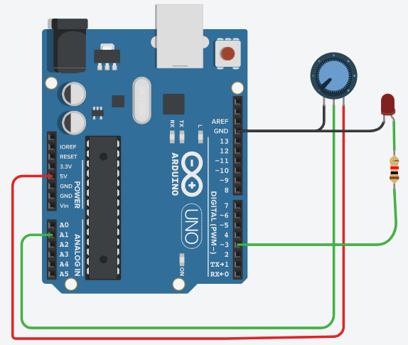 Arduino Tutorials for Testers: build a Light Dimmer - Qxf2 blog