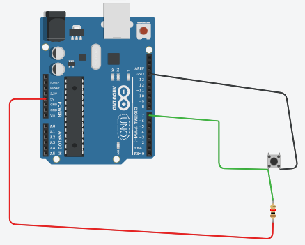 Connect the switch to Arduino