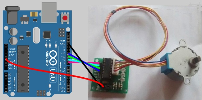 Swell Arduino Tutorials For Testers Stepper Motor Qxf2 Blog Wiring 101 Capemaxxcnl