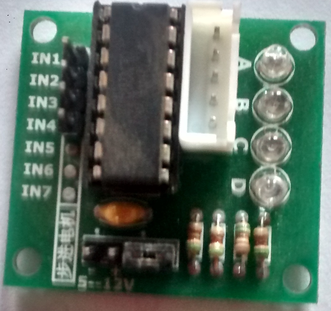 Arduino tutorials for testers stepper motor qxf2 blog for Uln2003 stepper motor driver board tutorial