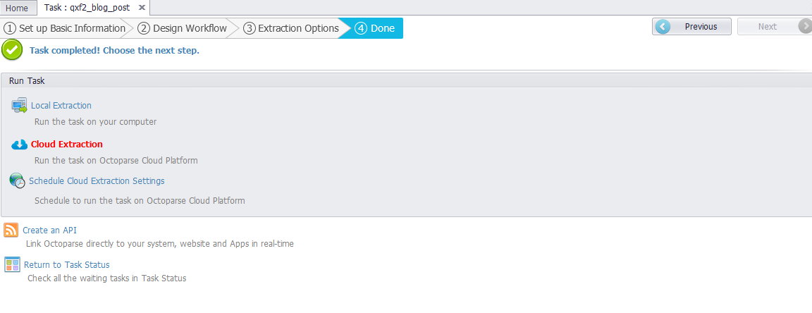 Scraping websites using Octoparse (no programming!) - Qxf2 blog