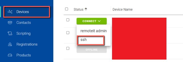 RaspberryPi ssh Option